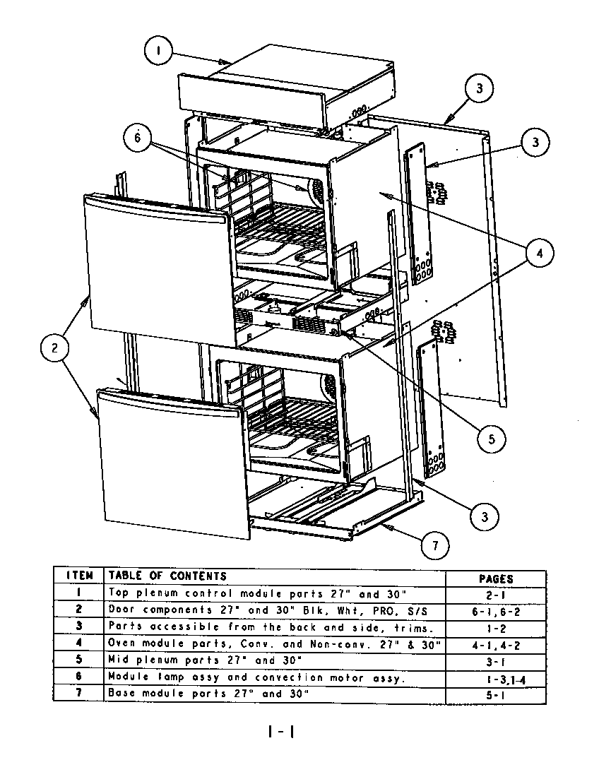 Sc302 built in electric oven oven assembly parts diagram