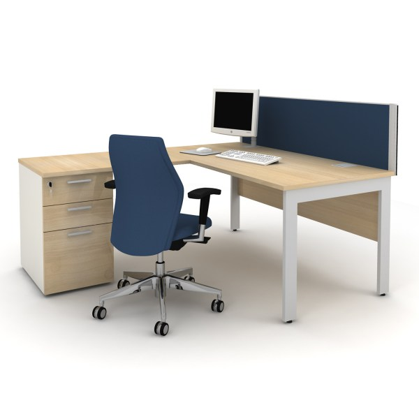 Qore Office Desks   Tangent Office Furniture   Apres Furniture Qore Office Work Desk