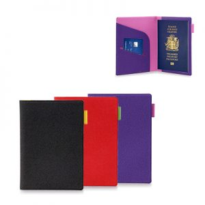 Billie PU Leather Passport Holder