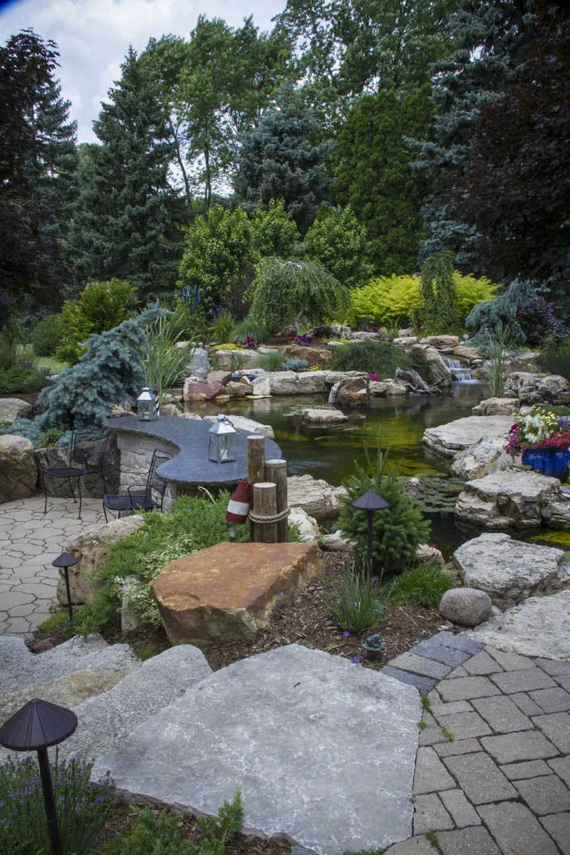 Fish Pond Landscape Ideas