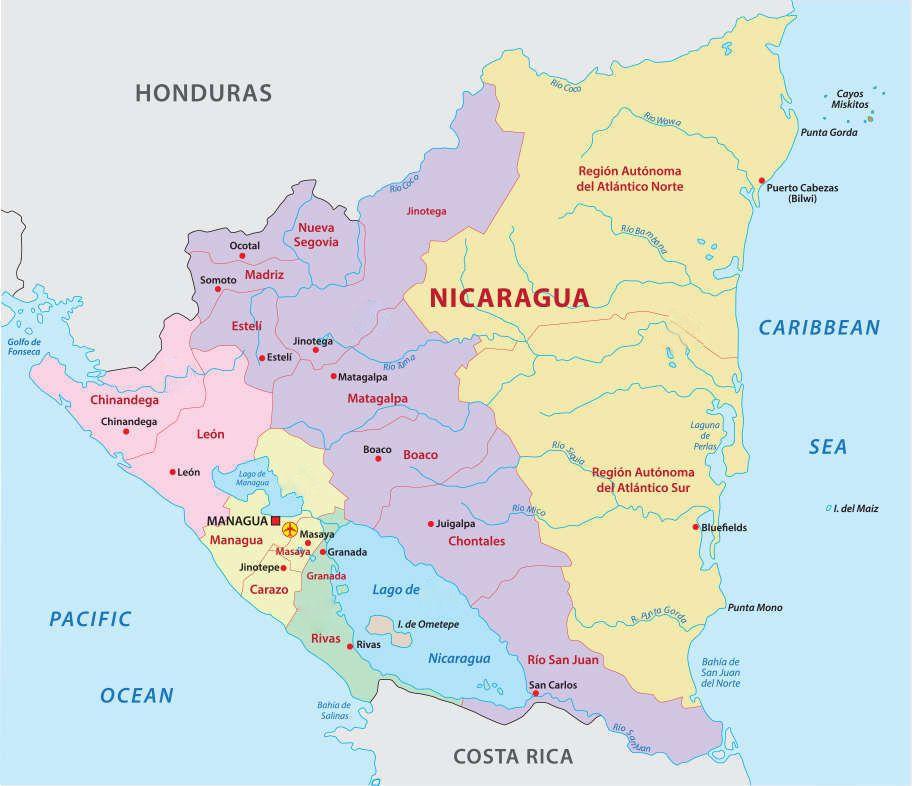 Lake Nicaragua Volcanoes