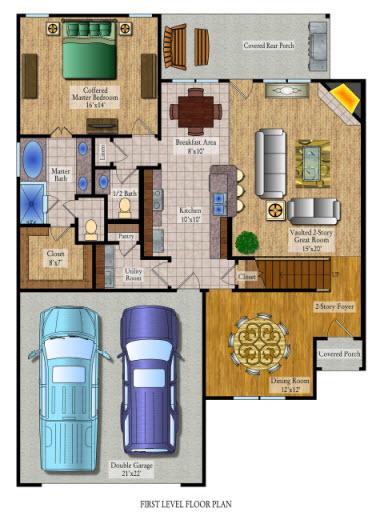 Kitchen Design Plans Template