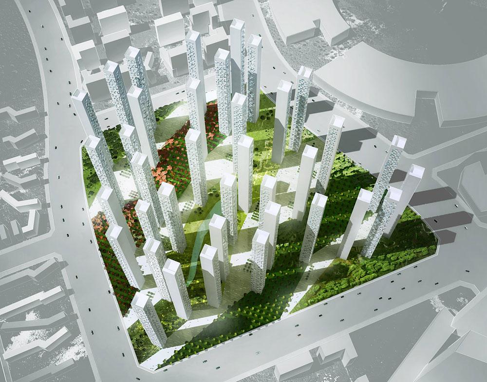 Songdo Landmark City Block A4 By Rex
