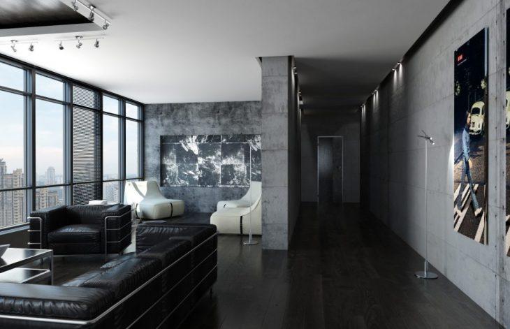 High Tech Apartment In St Petersburg By Alexloft
