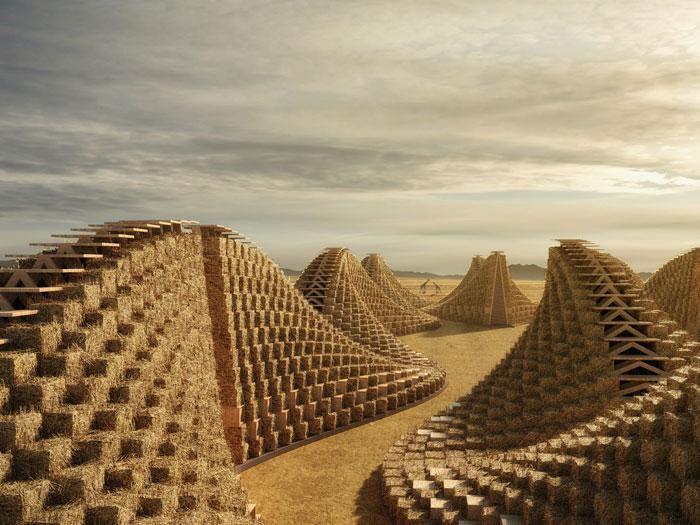 Stunning Straw Bale School Design In Malawi Architecture