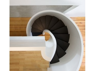 Universal Spiral Staircases Available Now From Enzie Stairs | Flexible Handrail For Spiral Staircase | Staircase Ideas | Stair Kit | Loft Stairs | Stair Parts | Modern Staircase