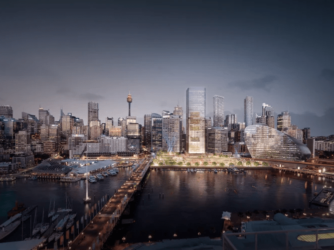 Controversial Cockle Bay Tower Approved Architecture