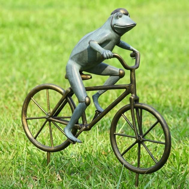 Frog Garden Statues Outdoor Decor