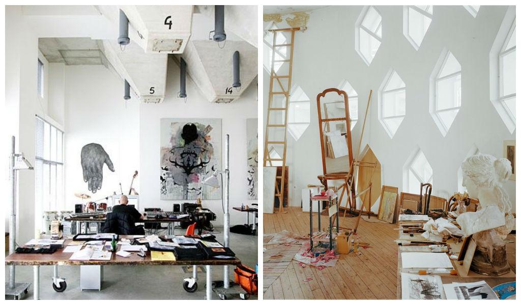 Home Art Studio Interior Design Ideas