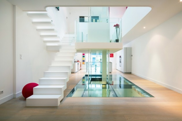 20 Incredible Staircase Designs For Your Home | Duplex House Staircase Wall Design | Contemporary | Textured | Apartment Duplex | Fancy | Stair Wall Paint