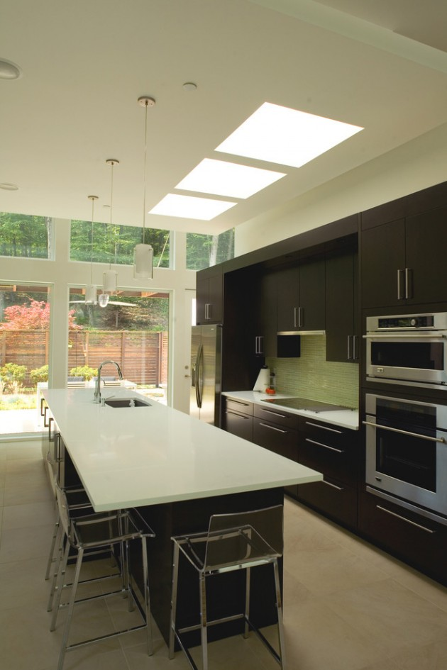 Simple Contemporary Kitchen Designs