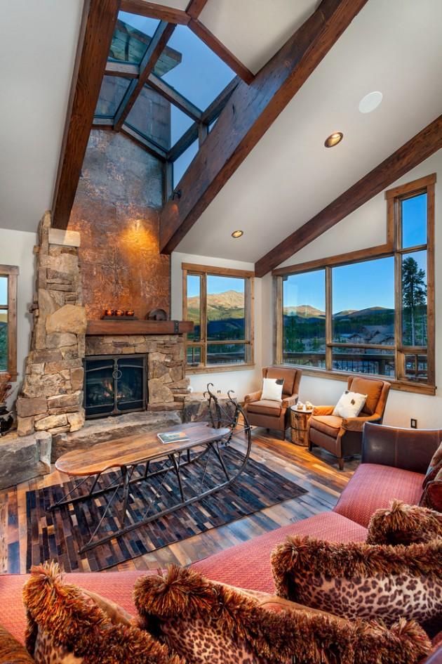 15 Warm Amp Cozy Rustic Living Room Designs For A Cozy Winter