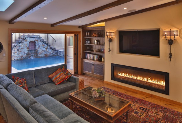 And Fireplaces Family View And Televisions Rooms