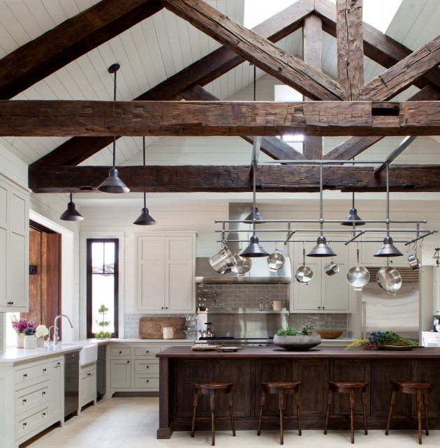 15 Lovely Farmhouse Kitchen Interior Designs To Fall In