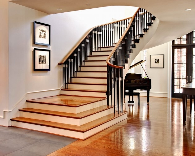 16 Elegant Traditional Staircase Designs That Will Amaze You | Traditional Staircase Designs For Homes | Antique | Nice | Low Cost | Entryway | Wonderful