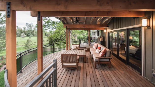 Screened Porch Railing Designs