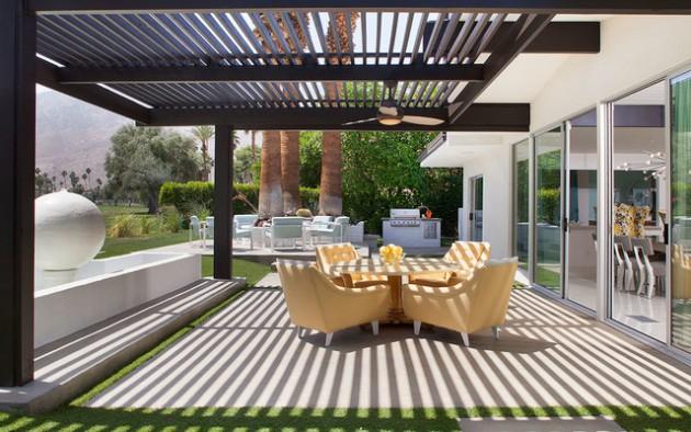16 Sensational Mid Century Patio Designs To Improve Your