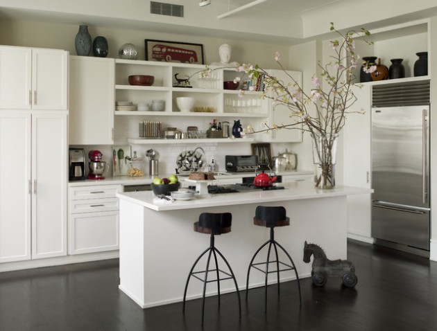 Open Small Kitchens Concept