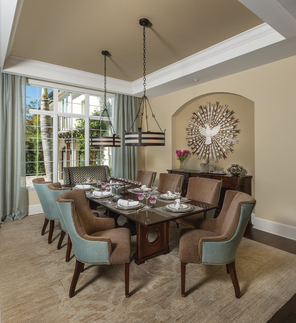 Dining Circle Table Large Room
