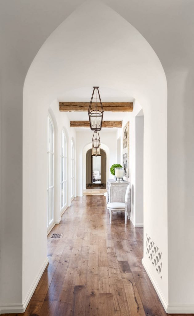 17 Magnificent Mediterranean Hallway Designs To Navigate Through Your Home