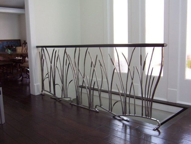 19 Extraordinary Railing Designs To Beautify Your Internal | Internal Staircase Railing Designs