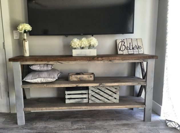 Plank Farmhouse Table