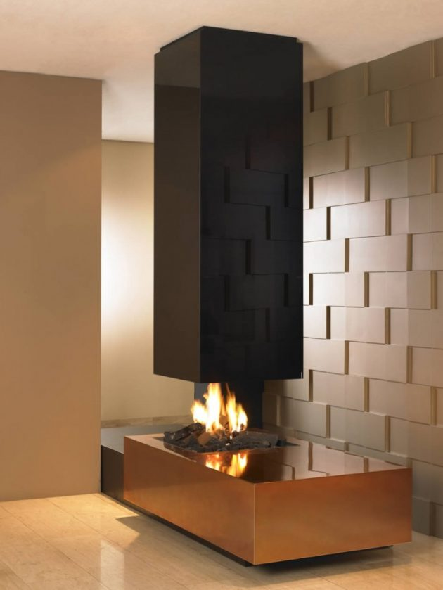 19 Stunning Fireplace Ideas With Unique Designs That Will