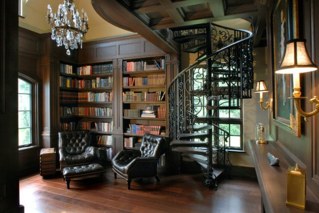 16 Classic Home Library Designs That Are Dream Of Every
