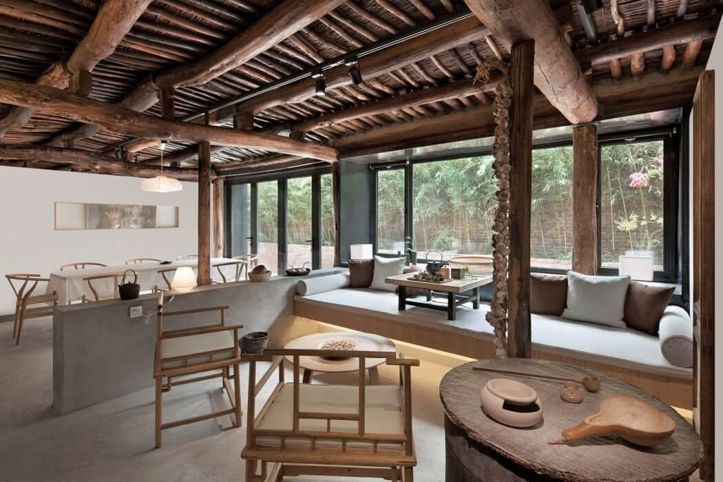 Farm House Remodel By Evolution Design In Beijing China