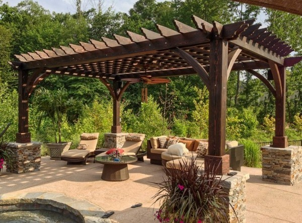 17 Exceptional Pergola Designs To Protect From The Sun