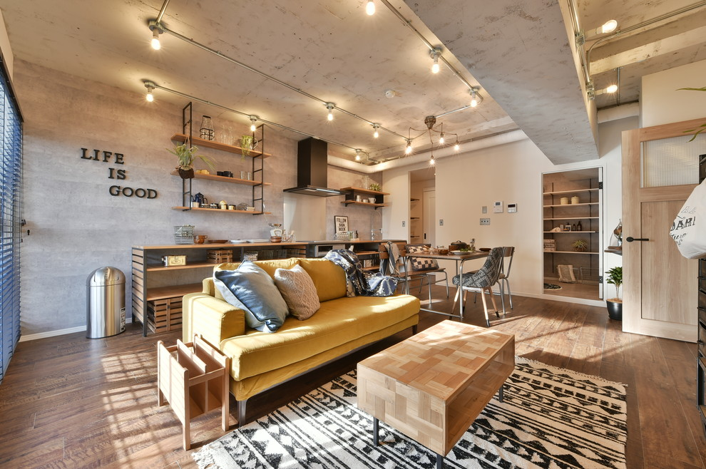 18 Irresistible Industrial Living Room Designs That Will