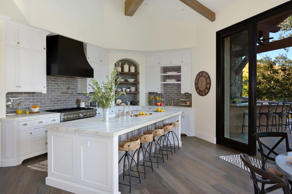 French Inspired Kitchen Designs