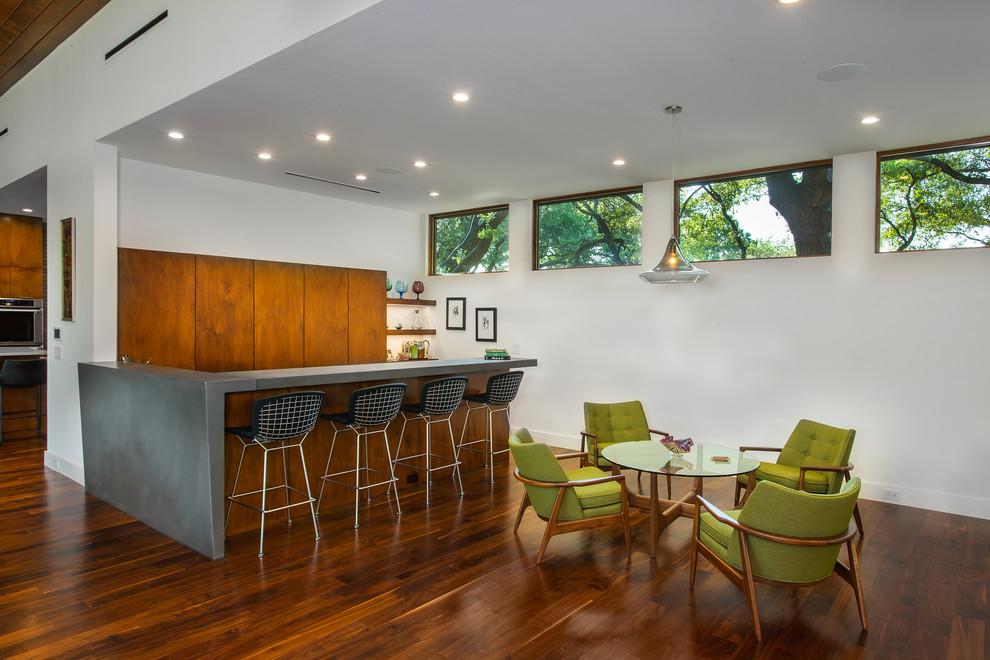 16 Outstanding Mid Century Modern Home Bar Design You Need