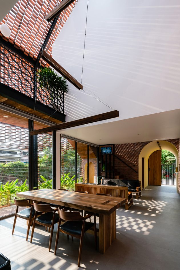 Oldmeetsnew House By Block Architects In Tar Vinh Vietnam