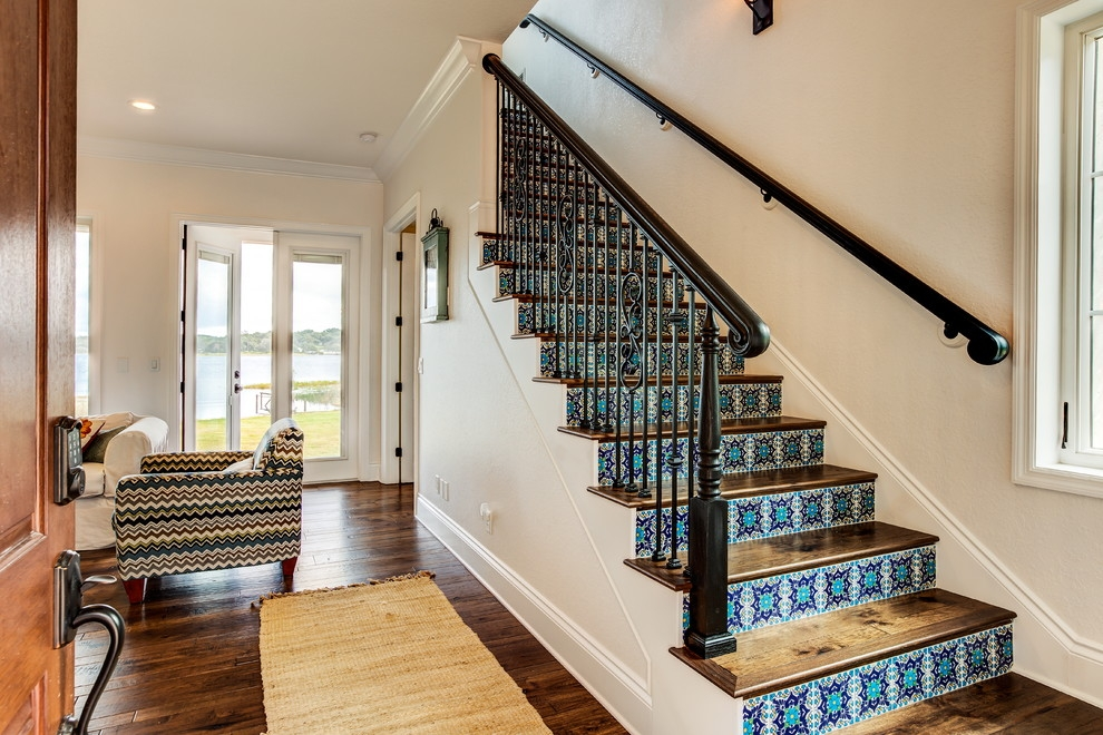 20 Astonishing Mediterranean Staircase Designs Your Home Needs | Stairs Style For Home | Creative | Inside | Spiral | Country Cottage | Living Room