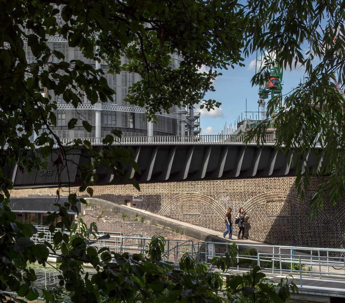 Somers Town Bridge Architecture Today