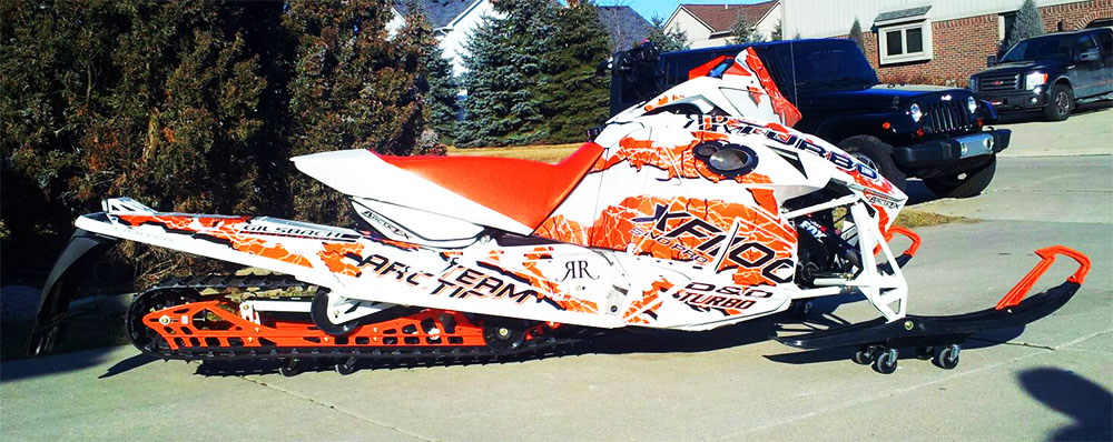 Arctic Cat Snowmobile Wraps