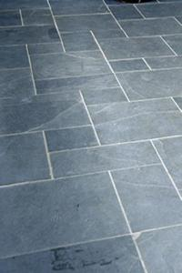 Blue Floor Tile  Indoor Tile Floor Porcelain Stoneware Plain     tile size pattern in black slate with blue floor tile