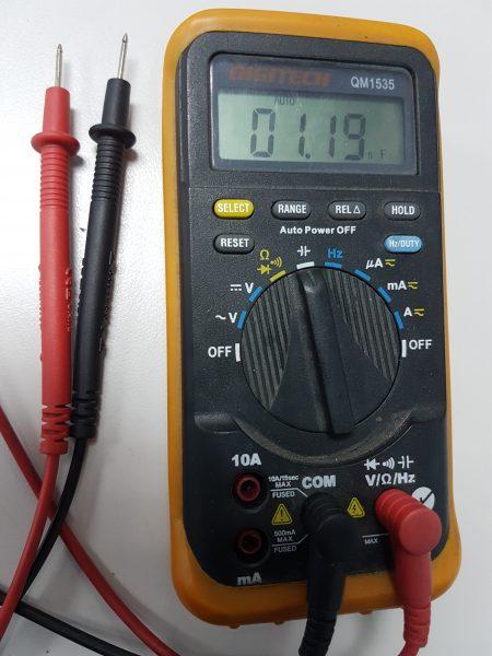 Motor Start Or Run Capacitor Testing Argon Distributors Ltd