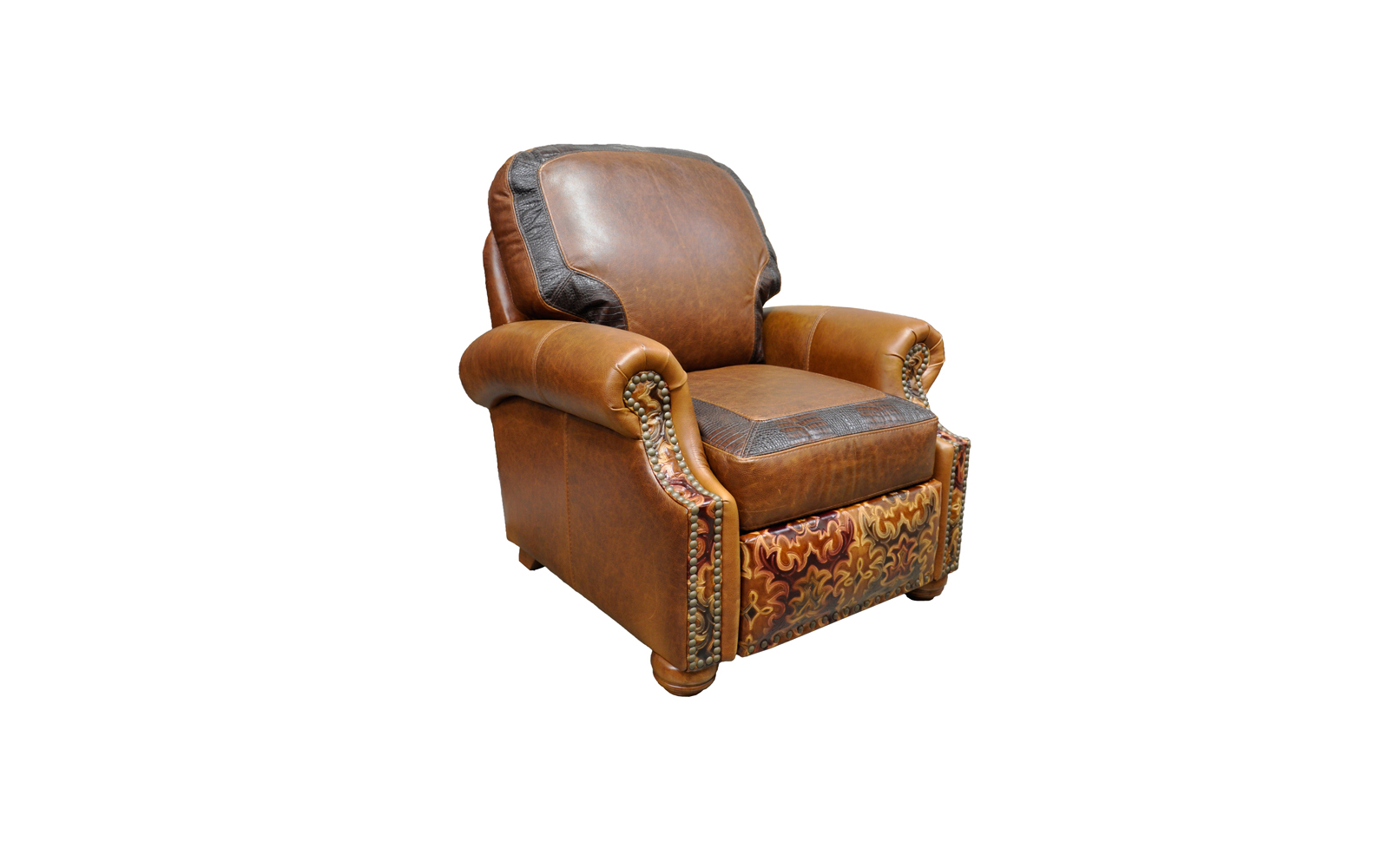 Push Ottomans Back Recliner