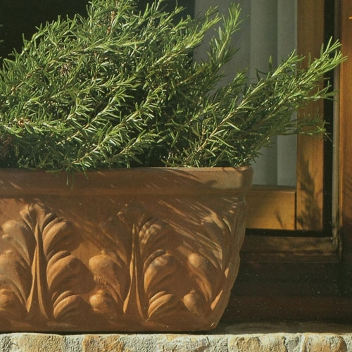 Rectangle Windowbox Terracotta Garden Planter Made In