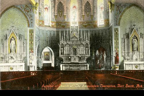 Catholic Chronicles Arkansas History Through Postcards