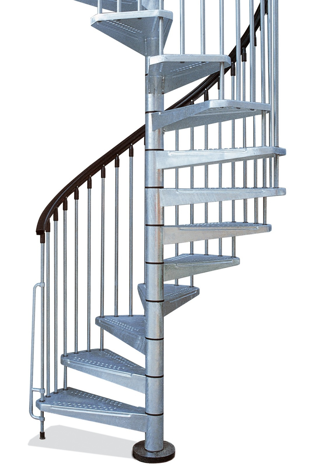 Metal Outdoor Spiral Staircase Exterior Stairs | Exterior Metal Spiral Staircase | Rustic Metal | Deck | Crystal Handrail | Bar Modern | Railing