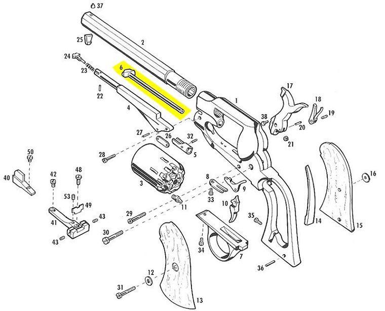 Remington 7600 Parts Schematic