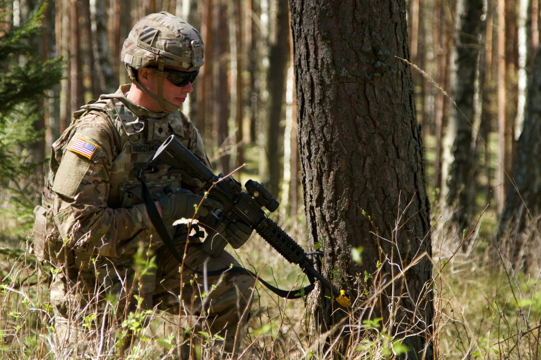 Army Scout Sniper Cavalry