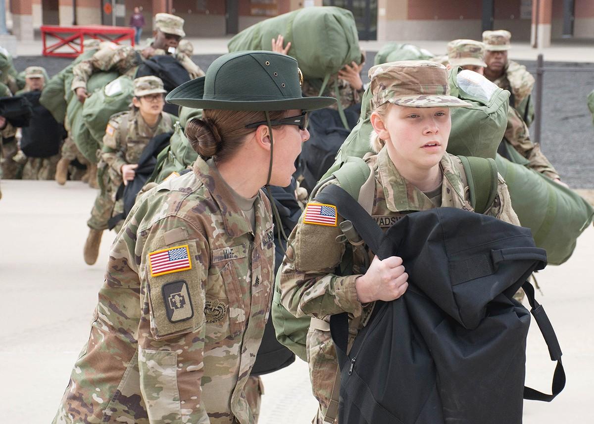 Fort Benning New Recruits
