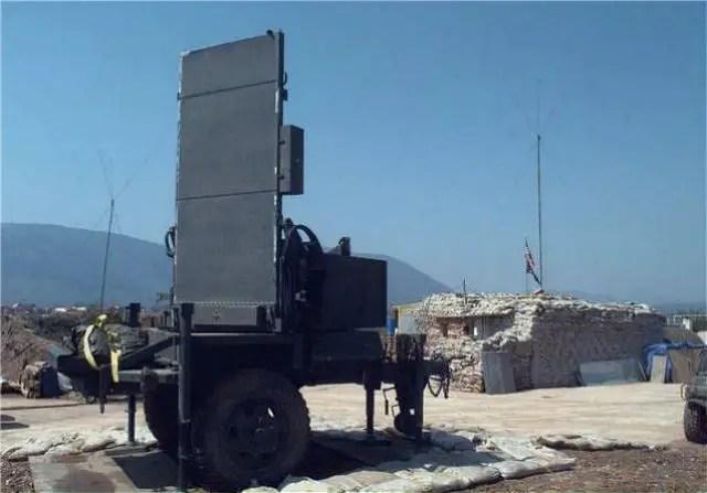 Firefinder Radar Shelter