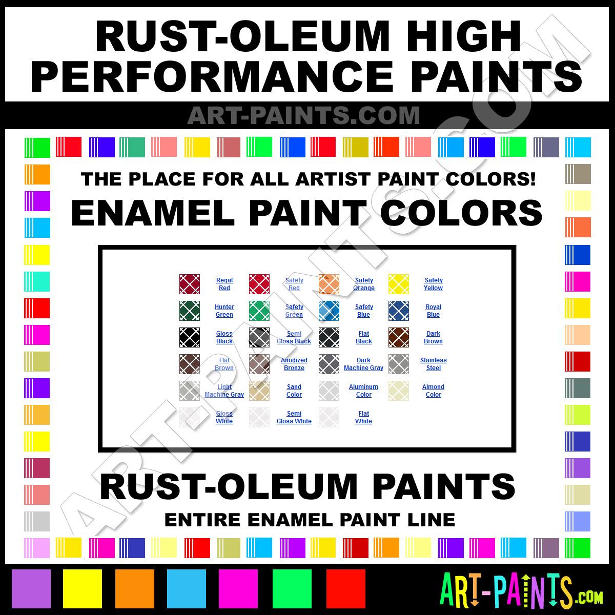 High Heat Brown Spray Paint