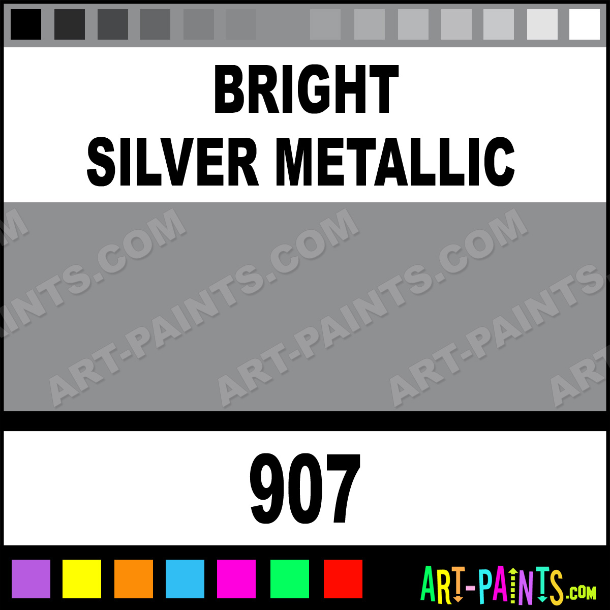 Auto Silver Fabric Paint