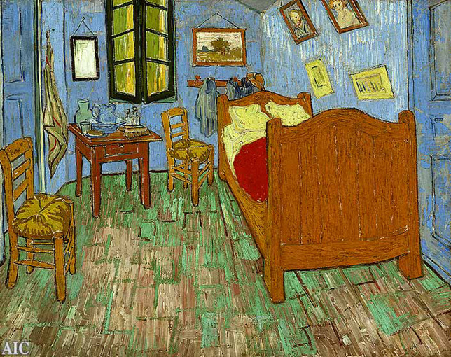Van Gogh Bedroom Arles